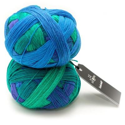 Zauberball Grinding Turquoise 2360 (Schoppel)