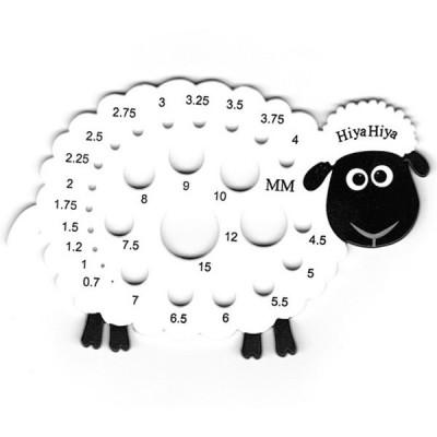 Miarka do drutów - owieczka (HiyaHiya)