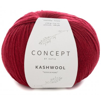 Kashwool Sock&More 302 Red (Concept by Katia)