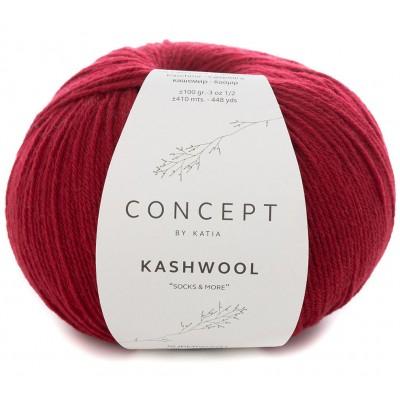 Włóczka Kashwool Sock&More 302 Red (Concept by Katia)