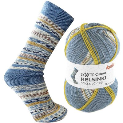 Helsinki Symetric Socks 50 (Concept by Katia)