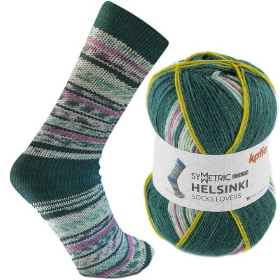 Włóczka Helsinki Symetric Socks 54 (Katia)