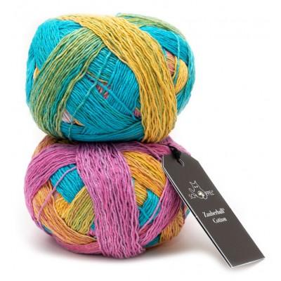Włóczka Zauberball Cotton 2406 Sunnyside (Schoppel)