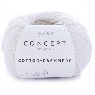 Cotton Cashmere 52 White (Concept by Katia)