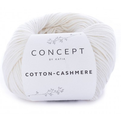 Cotton Cashmere 53 Off White (Concept by Katia)