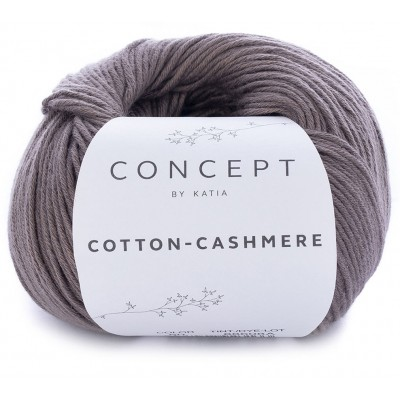 Cotton Cashmere 60 Fawn brown (Concept by Katia)