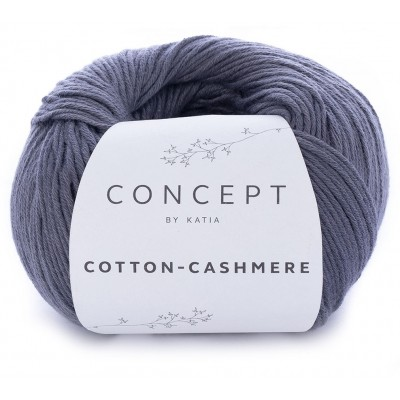 Cotton Cashmere 61 Dark grey (Concept by Katia)