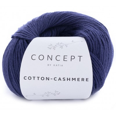 Cotton Cashmere 62 Dark blue (Concept by Katia)