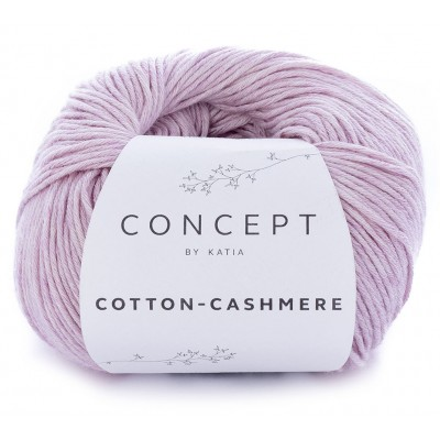 Cotton Cashmere 64 Light mauve (Concept by Katia)
