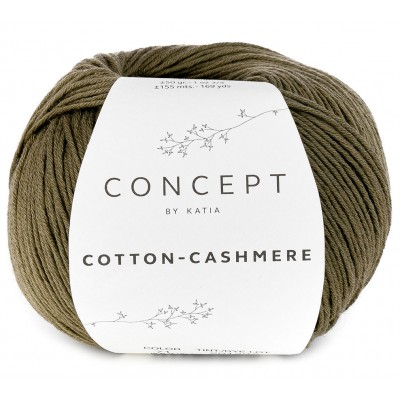 Cotton Cashmere 71 Khaki (Concept by Katia)