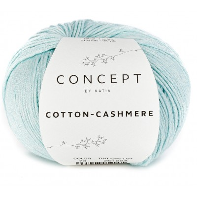 Cotton Cashmere 73 Water blue (Concept by Katia)