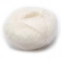 Włóczka Brushed Lace mohair 3000 Ecru (Mohair by Canard)