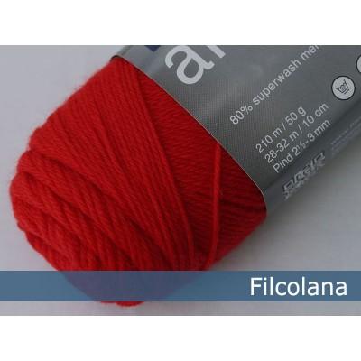 Włóczka Arwetta Classic 138 Geranium Red (Filcolana)