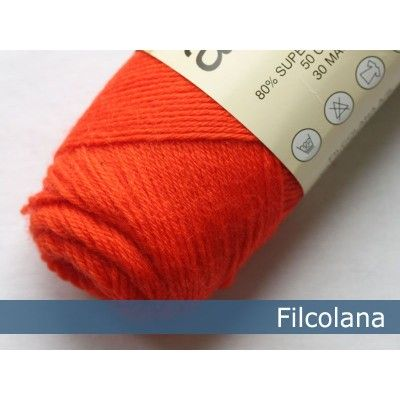 Włóczka Arwetta Classic 252 Chock Orange (Filcolana)