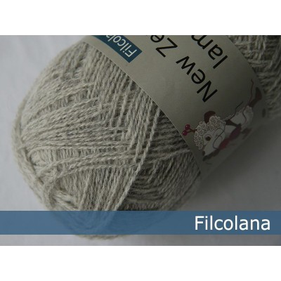 Włóczka Saga 950 Very Light Grey (melange) (Filcolana)