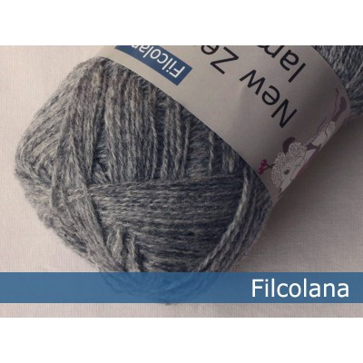 Włóczka Saga 951 Light Grey (melange) (Filcolana)