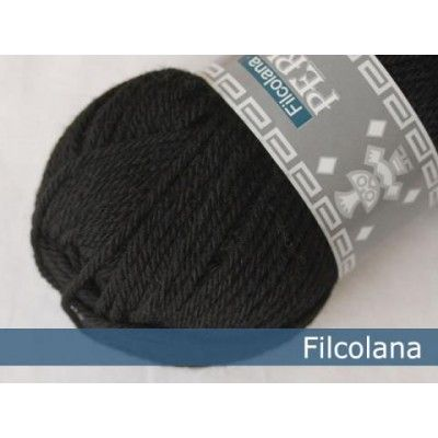 Włóczka Peruvian Highland Wool Black 102 (Filcolana)