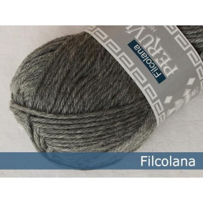 Włóczka Peruvian Highland Wool 955 Medium Grey (Filcolana)