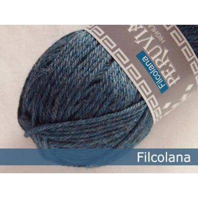 Włóczka Peruvian Highland Wool 814 Storm Blue (Filcolana)