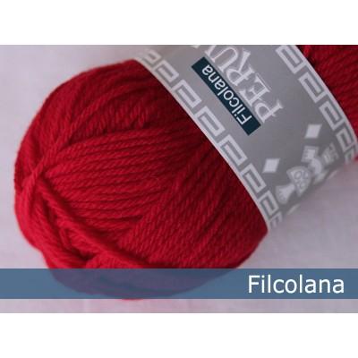 Włóczka Peruvian Highland Wool 218 Chinese Red (Filcolana)