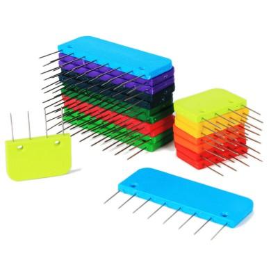Szpilki - grzebienie do blokowania dzianin (KnitPro)