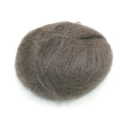 Włóczka Brushed Lace mohair 3007 Taupe (Mohair by Canard)