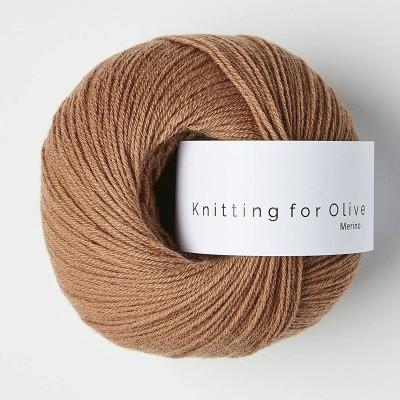 Włóczka Merino Brown Nugat (Knitting for Olive)