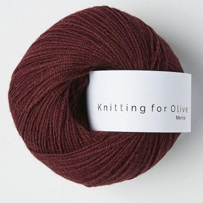 Włóczka Merino Bordeaux (Knitting for Olive)