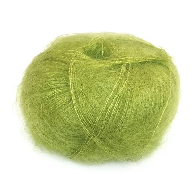 Włóczka Brushed Lace mohair 3099 Lime (Mohair by Canard)
