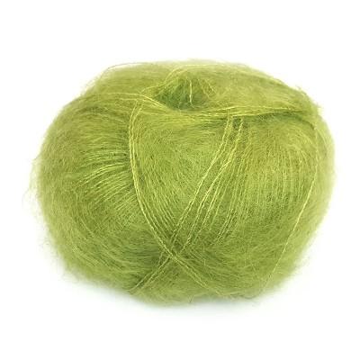 Włóczka Brushed Lace mohair 3099 Lime (Mohair by Canard)