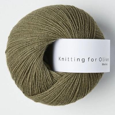 Włóczka Merino Dusty Olive (Knitting for Olive)