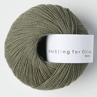 Włóczka Merino Dusty Sea Green (Knitting for Olive)