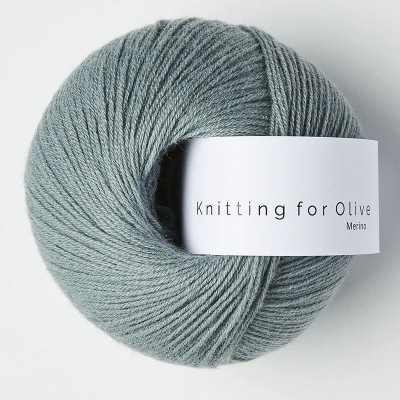 Włóczka Merino Dusty Aqua (Knitting for Olive)