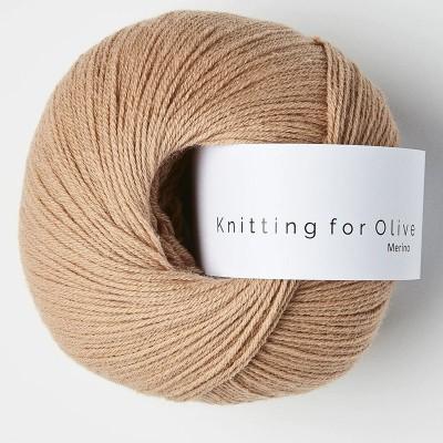 Włóczka Merino Camel Rose (Knitting for Olive)