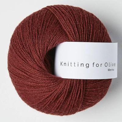 Włóczka Merino Claret (Knitting for Olive)