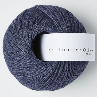 Włóczka Merino Dark Blue (Knitting for Olive)