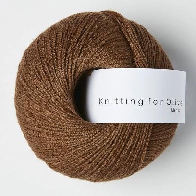 Włóczka Merino Dark Cognac (Knitting for Olive)
