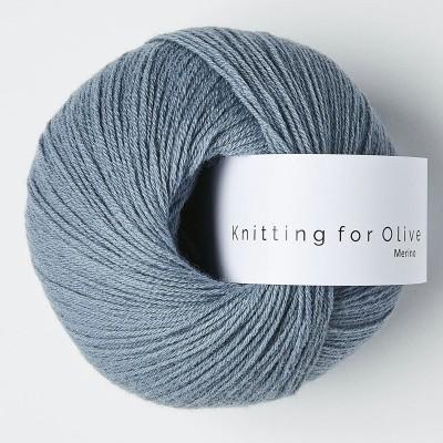 Włóczka Merino Dusty Dove Blue (Knitting for Olive)