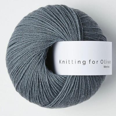 Włóczka Merino Dusty Petroleum Blue (Knitting for Olive)