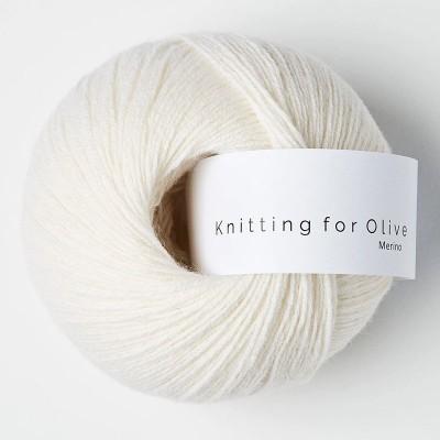 Włóczka Merino Natural White (Knitting for Olive)