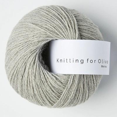 Włóczka Merino Pearl Gray  (Knitting for Olive)