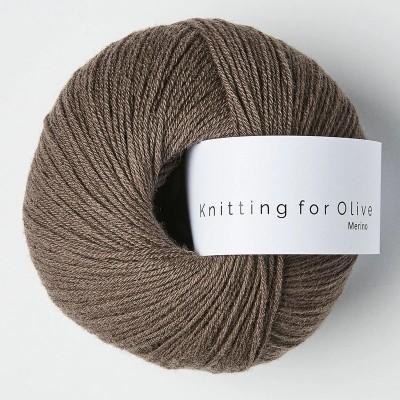 Włóczka Merino Plum Clay (Knitting for Olive)