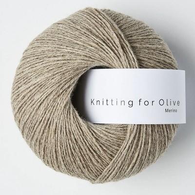 Włóczka Merino Oatmeal (Knitting for Olive)