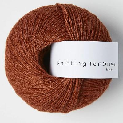 Włóczka Merino Rust (Knitting for Olive)