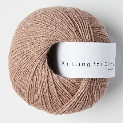 Włóczka Merino Rose Clay (Knitting for Olive)