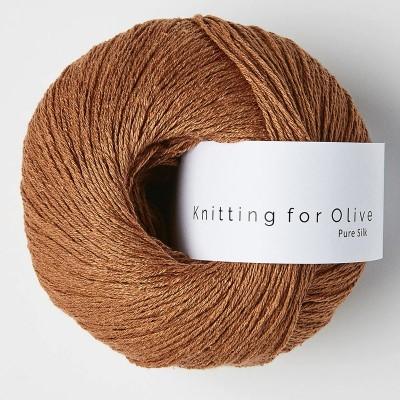 Włóczka Pure Silk Copper (Knitting for Olive)