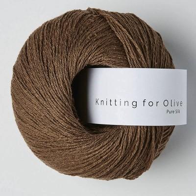 Włóczka Pure Silk Dark Cognac (Knitting for Olive)