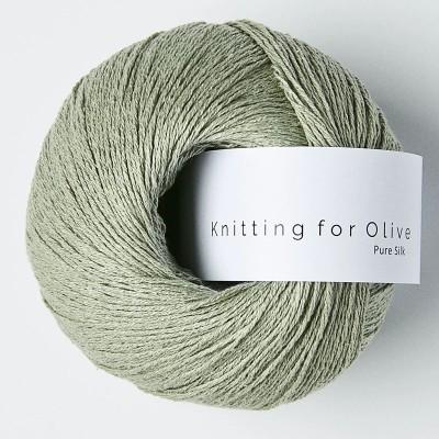 Włóczka Pure Silk Dusty Artichoke (Knitting for Olive)