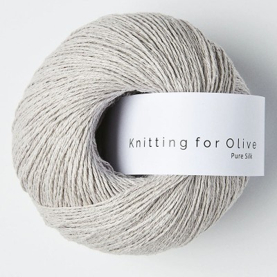 Włóczka Pure Silk Linen Gray (Knitting for Olive)