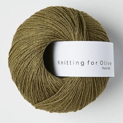 Włóczka Pure Silk Olive (Knitting for Olive)